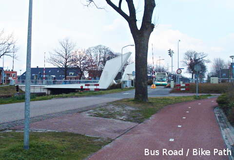 Bus Road / Bicycle Path